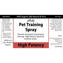Pet Training Spray - Potent