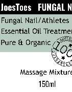 JoesToes Foot and Nail treatments
